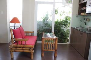 Căn hộ 1 phòng ngủ nhìn ra Vườn