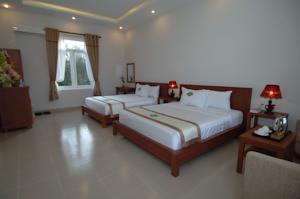 Phòng Deluxe có Giường Đôi và Tầm nhìn ra Đại dương