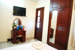 Phòng Tiêu chuẩn Giường Đôi với Ban công