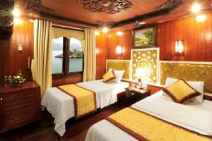 Phòng Deluxe 2 Giường Đơn Nhìn ra Biển - 2 Ngày 1 Đêm