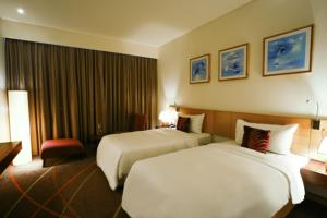 Phòng Deluxe có 2 giường đơn, Tầng Executive