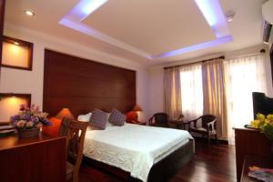 Phòng Deluxe có Giường cỡ Queen với Ban công