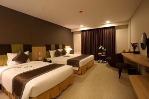 Phòng Deluxe Đôi/ 2 Giường đơn Nhìn ra Biển