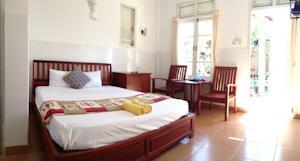 Phòng hạng Phổ thông có Giường đôi hoặc 2 Giường đơn và Quạt máy
