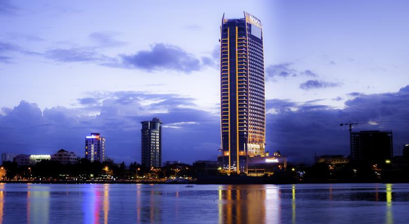 Khách sạn ở khu vực trung tâm thành phố.