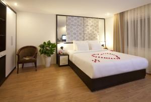 Phòng Deluxe Đôi hoặc 2 Giường đơn nhìn ra cảnh thành phố Hà Nội