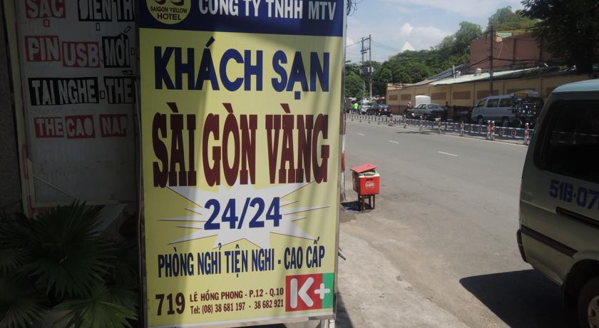 Khách Sạn Sài Gòn Vàng