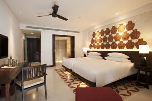 Phòng Deluxe 2 Giường đơn Nhìn ra Đồi