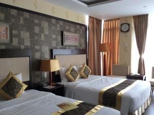 Phòng Premium Deluxe 2 Giường Đơn Nhìn ra Khu vườn