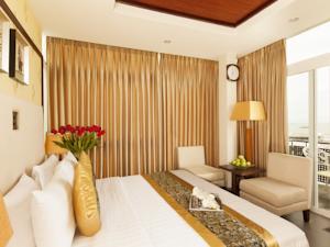 Phòng Premium Deluxe Giường đôi Nhìn ra Biển