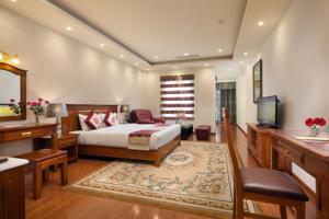 Suite Silk có Giường cỡ Queen và Sân hiên