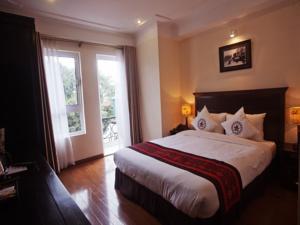 Phòng Luxury có Giường Đôi/ 2 Giường Đơn với Ban công