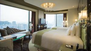 Phòng Grand Deluxe có 2 Giường Đơn với Tầm nhìn Toàn cảnh