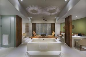 Phòng Deluxe Giường Đôi Nhìn ra Biển (Bao gồm Spa + Dịch vụ đưa đón Miễn phí)