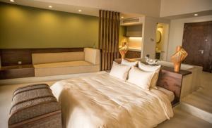 Phòng Premium Giường Đôi/2 Giường Đơn Nhìn ra Biển (Bao gồm Spa + Dịch vụ đưa đón Miễn phí)
