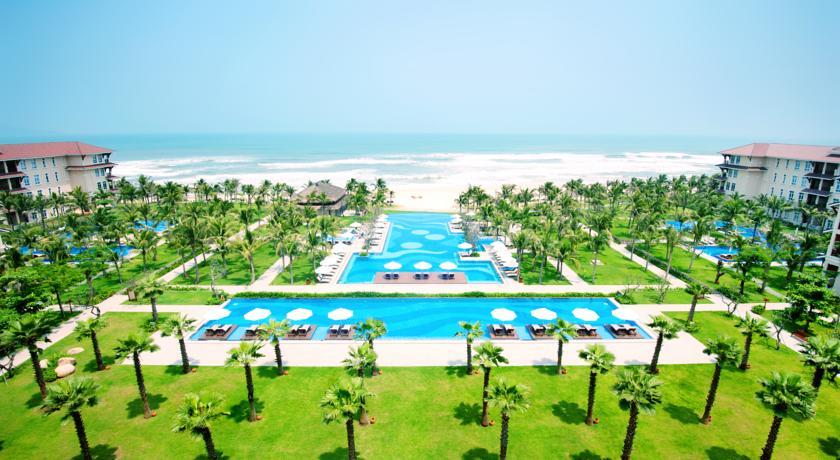 Khách sạn khu vực ven biển Đà Nẵng.