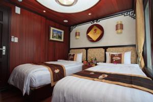 Phòng Giường Đôi/2 Giường Đơn Nhìn ra Biển - 2 Ngày 1 Đêm