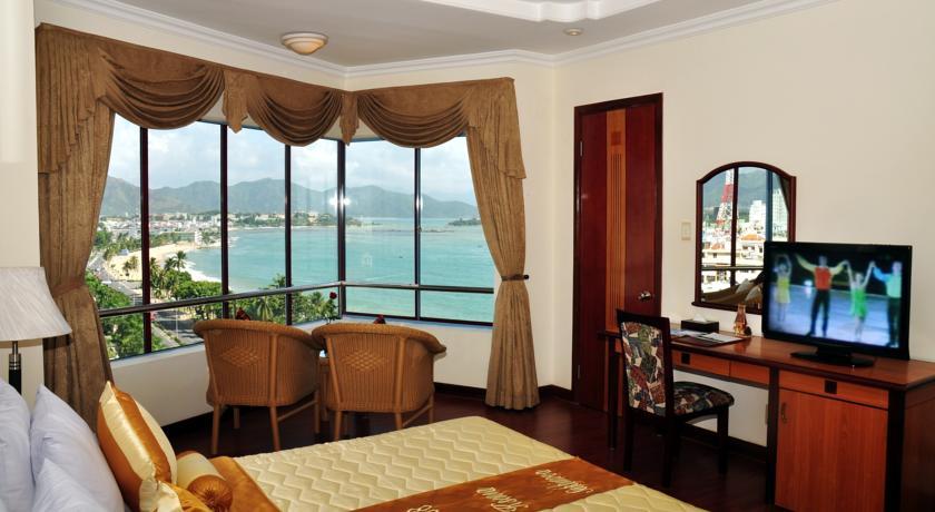 Phòng nghỉ luôn có tầm nhìn ra biển rất đẹp.