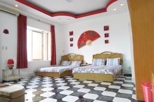 Phòng 2 Giường Đơn với Bồn tắm