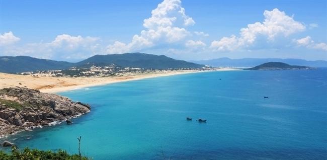 Vịnh Vân Phong với phong cảnh tuyệt đẹp.