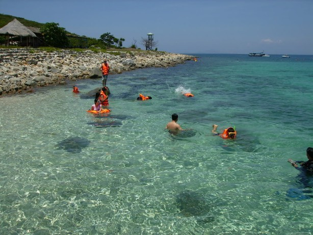 Đi tour tham quan 4 đảo Nha Trang, du khách sẽ được hòa mình vào biển đảo Nha Trang