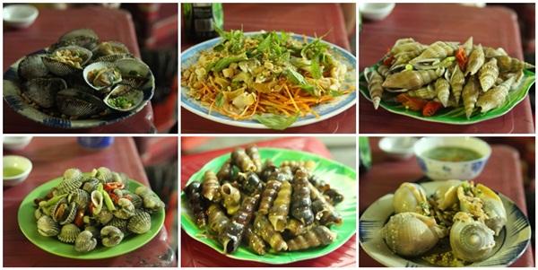 Đến Nha Trang mà không ăn thử món ốc quả là 1 thiếu sót lớn