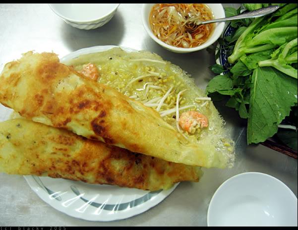 Đặc sản Quảng Bình - Bánh xèo