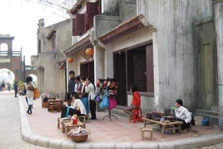 Khu phố cổ trong Thiên đường Bảo sơn