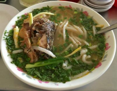 Bánh canh cá lóc, đặc sản mát lành cho ngày nắng ở Quảng Trị