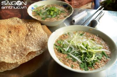 Bún rạm nức tiếng ở Bình Định