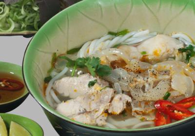 Bún sứa Nha Trang - Món ăn mang đậm hương vị biển