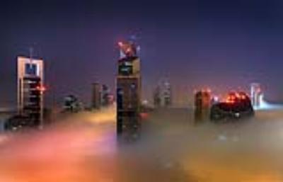 Cảnh bồng lai trên những tòa tháp ở Dubai