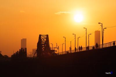Nét cổ kính trên cây cầu Long Biên