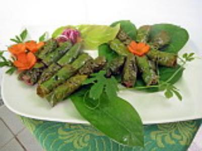 Độc đáo những món ăn từ... lá