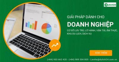 Giới thiệu dịch vụ của Dulich24 dành cho doanh nghiệp