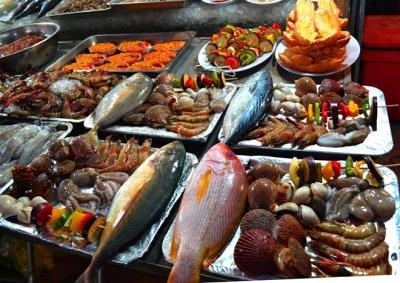 Thiên đường hải sản nướng ở chợ đêm Dinh Cậu