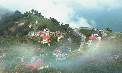 Hành trình chinh phục tháp truyền hình Tam Đảo