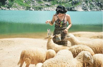 Hồ Đá Xanh địa điểm lung linh để chụp hình ở Vũng Tàu