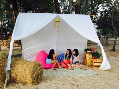 Khám phá Zenna Pool Camp – khu cắm trại trên biển hấp dẫn ở Vũng Tàu