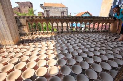Ghé thăm làng gốm Kim Lan nghìn năm tuổi bên sông Hồng