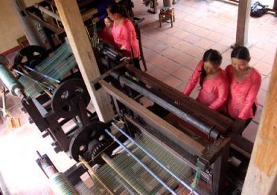 Làng lụa tơ tằm 300 năm giữa phố cổ Hội An
