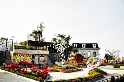 Khám phá lễ hội hoa ở Bà Nà Hill