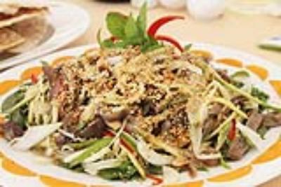 Mì sụa - món ăn của người Hoa ở Sóc Trăng