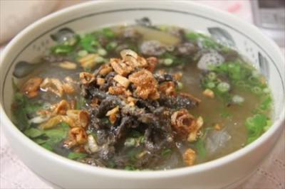 Miến lươn món ngon giải nhiệt cho mùa hè oi bức ở Hà Nội