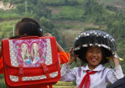 Cuộc sống thường nhật giản dị của người Mông ở La Pán Tẩn - Yên Bái