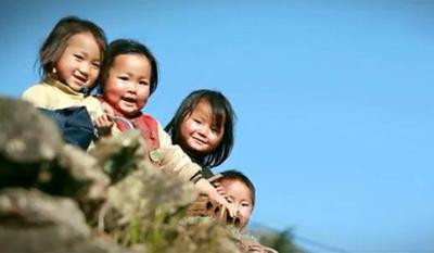 Nụ cười trẻ em Mù Cang Chải mùa lúa chín