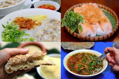 Món ăn sáng ngon nức lòng tại Sầm Sơn