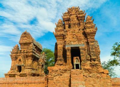 Tháp Po Klong Garai đậm nét Chăm ở Ninh Thuận