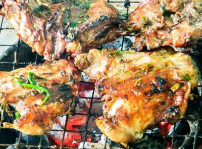 Thịt chuột với đọt lộc vừng của người Chăm