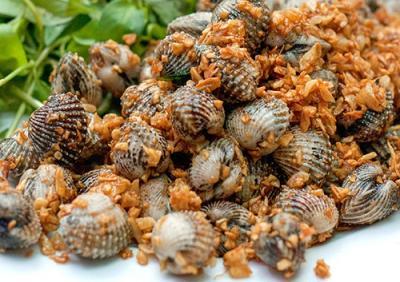 Thưởng thức những món ngon chế biến từ Sò Huyết ở vùng biển Cát Bà